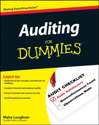 Auditing For Dummies from For Dummies