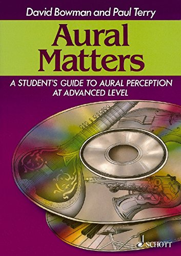 Aural Matters - A Student's Guide to Aural Perception at Advanced Level - edition with 2 CDs - (ED 12430) from Schott Music