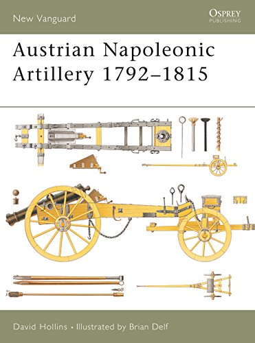 Austrian Napoleonic Artillery 1792-1815 (New Vanguard) from Osprey Publishing