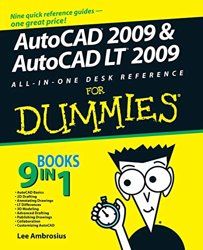 AutoCAD 2009   LT AIO DR FD (For Dummies) from John Wiley & Sons