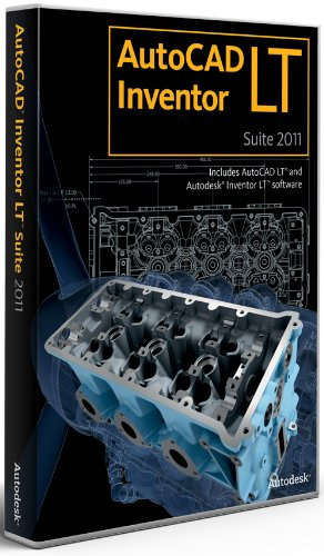AutoCAD Inventor LT Suite 2011 Commercial New SLM 5 Pack from Autodesk
