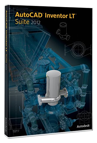 AutoCAD Inventor LT Suite 2012 Commercial New SLM 5 pack (PC) from Autodesk
