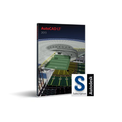AutoCAD LT 2013 with Subscription (PC) from Autodesk