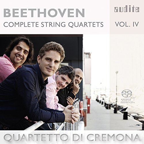 BEETHOVEN: COMPLETE STRING QUARTETS VOL.4 from AUDITE