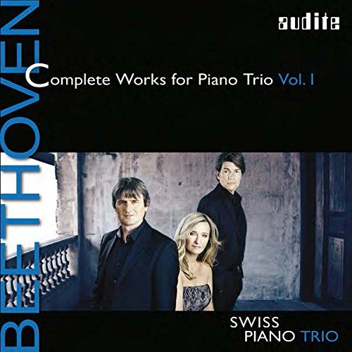 BEETHOVEN: COMPLETE WORKS FOR PIANO TRIO VOL.1 from AUDITE