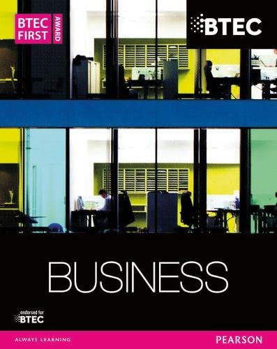 Business (BTEC First Business) from Pearson Education Limited