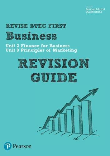 BTEC First in Business Revision Guide (BTEC First Business) from Edexcel