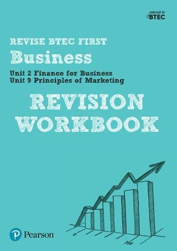 BTEC First in Business Revision Workbook (BTEC First Business) from Pearson Education Limited