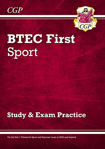 BTEC First in Sport - Study & Exam Practice with CD-ROM (CGP BTEC First) from Coordination Group Publications Ltd (CGP)