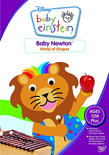 Baby Newton - World of Shapes [DVD] from Disney