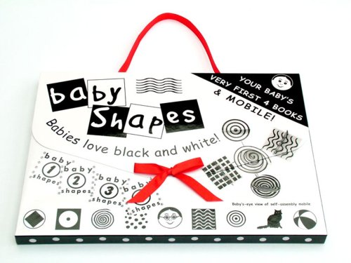 Baby Shapes 4 Books and Mobile Set from Children's Project