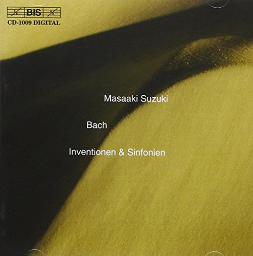 Bach, J.S: Inventions and Sinfonias, BWV 772-801 from BIS