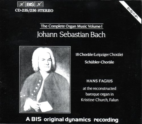 Bach, J.S.: Organ Music (complete), Vol. 1 from BIS