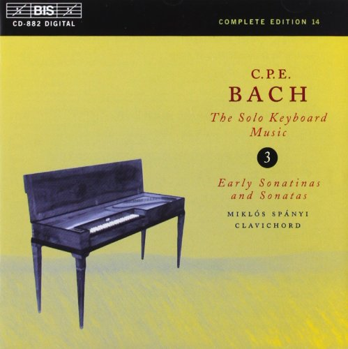 Bach/Solo Keyboard Music - Volume 3