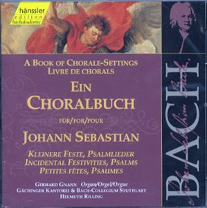 Bach: A Book of Chorale Settings, 5 - Incidental Festivities; Psalms (Edition Bachakademie Vol 82) /Rilling from HANSSLER CLASSIC