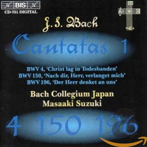Bach: Cantatas, Vol 1 (BWV 4, 150, 196) from BIS
