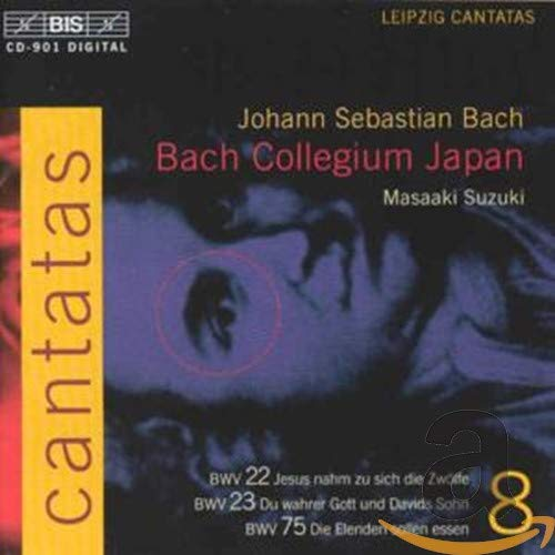 Bach: Cantatas, Vol 8 (BWV 22, 23, 75) /Bach Collegium Japan · Suzuki from BIS