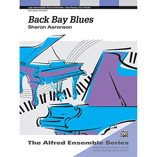 Back Bay Blues Sheet from Alfred Music