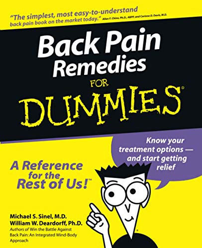 Back Pain Remedies for Dummies from John Wiley & Sons