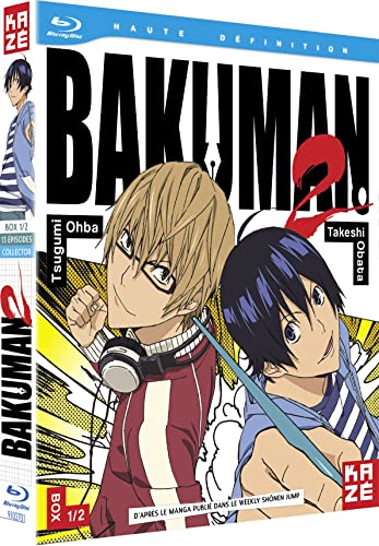 Bakuman Saison 2- Box 1/2 - Edition Collector Blu-ray