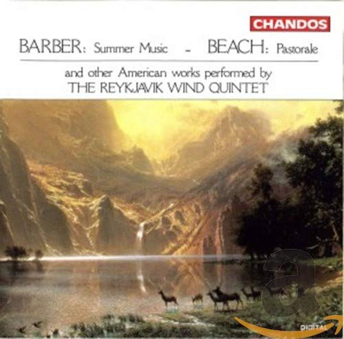Barber: Summer Music; Beach: Pastorale from CHANDOS GROUP
