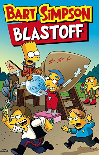 Bart Simpson - Blast-Off from Titan Books Ltd