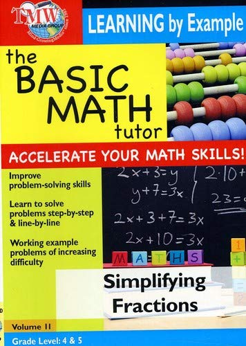 Basic Math Tutor: Simplifying Fractions [DVD] [2007] [NTSC] from TMW MEDIA GROUP