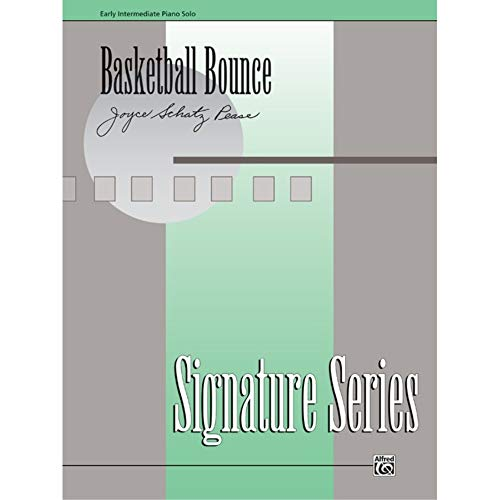 Basketball Bounce Sheet from Alfred Music Publications