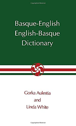 Basque-English English-Basque Pocket Dictionary- (Basque Series) from University of Nevada Press