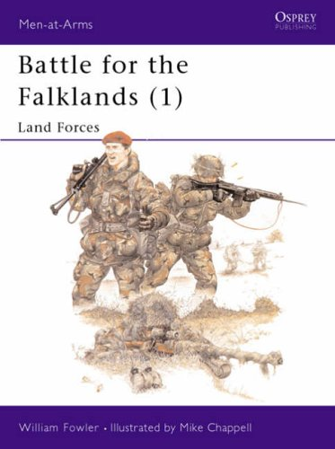 Battle for the Falklands: Land Forces Bk. 1 (Men-at-arms) from Osprey Publishing