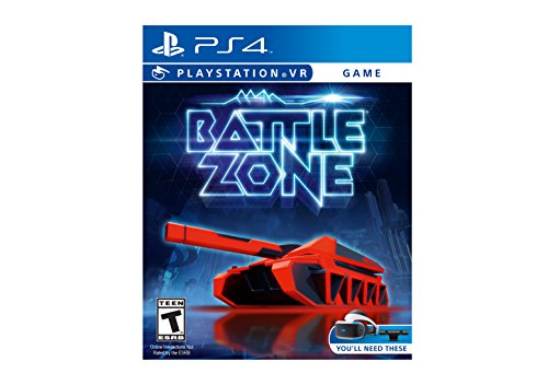 Battlezones Vr from Sony Playstation
