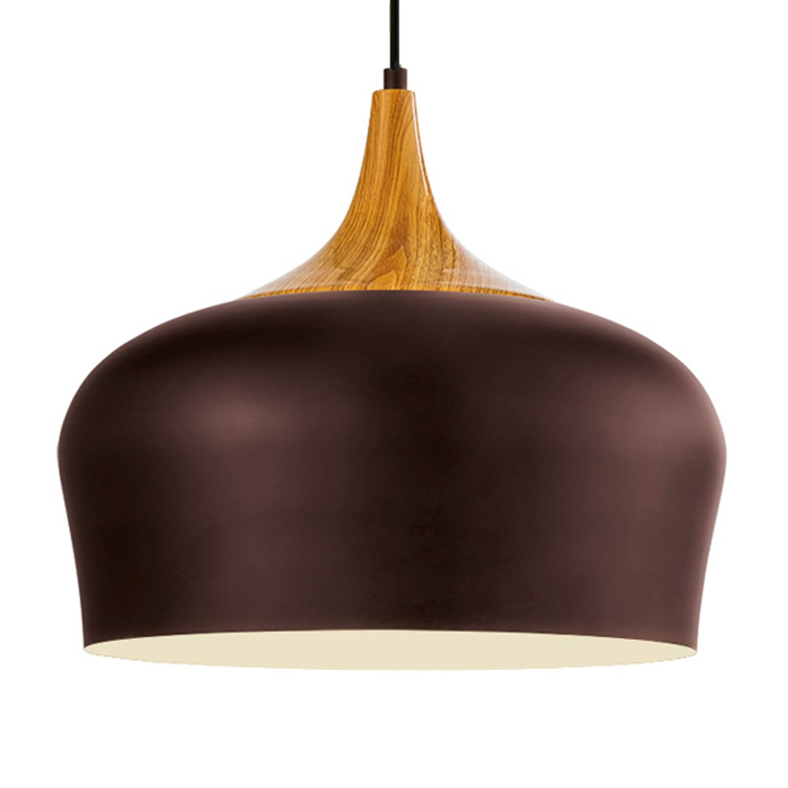 Obregon - elegant pendant lamp in brown from EGLO
