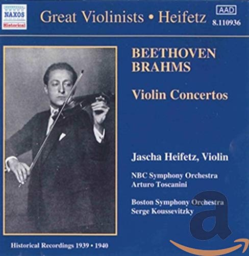 Beethoven, Brahms: Violin Concertos from NAXOS