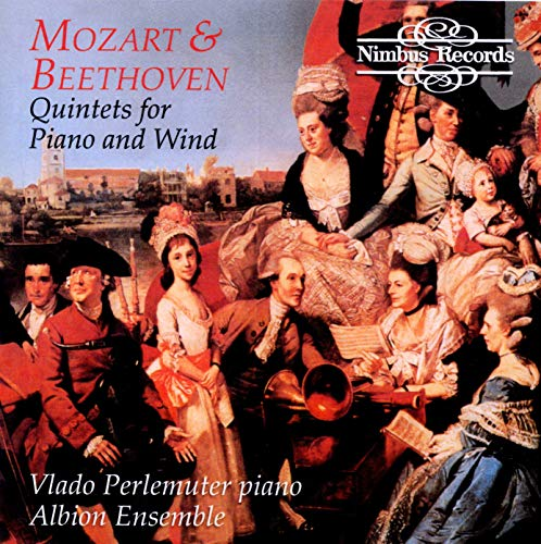 Beethoven & Mozart, Quintets for Piano and Wind from NIMBUS