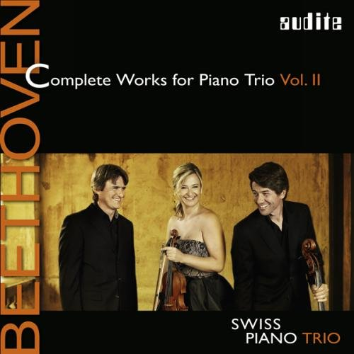 Beethoven: Complete Works for Piano Trio Vol.2 from AUDITE