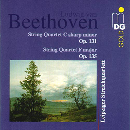 Beethoven: String Quartets op131 & op135 from MDG