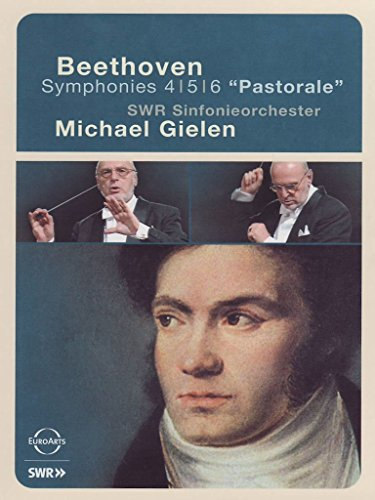 Beethoven: Symphonies 4/ 5/ 6 [DVD] [2004] from Euroarts