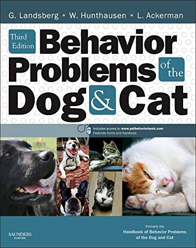 Behavior Problems of the Dog and Cat, 3e from Saunders Ltd.