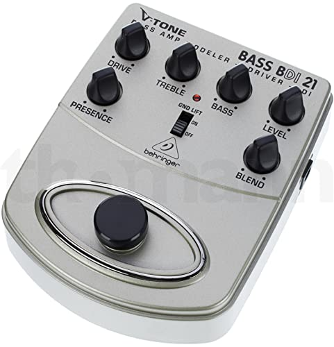 Behringer BDI 21 Bass Amp Modeler/ DI Guitar Effects Pedal from behringer