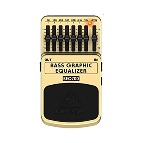 Behringer BEQ700 7 Band Bass Graphic Equalizer for Bass and Keyboard from behringer