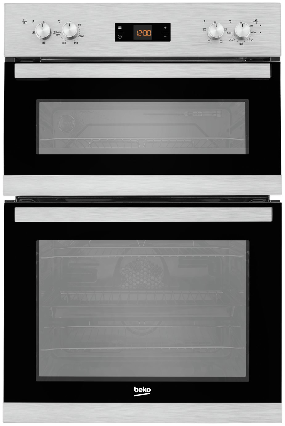 Beko BADF22300X Double Built-In Oven - Stainless Steel from beko