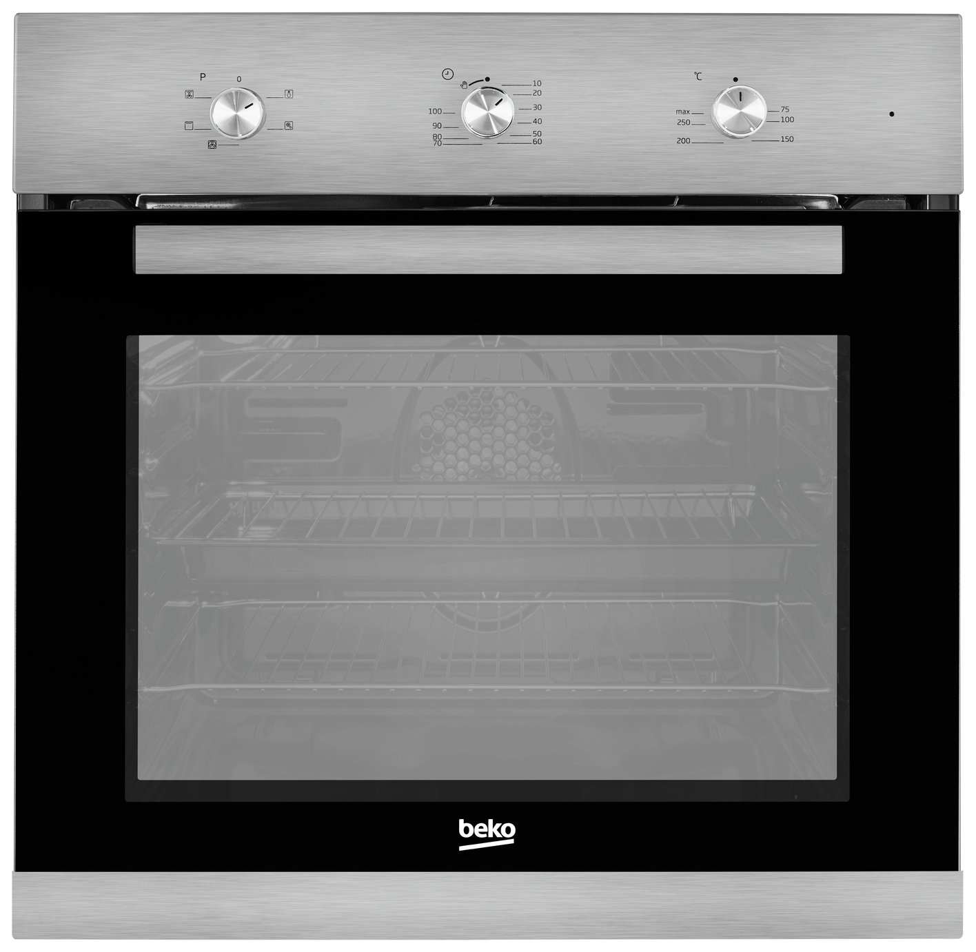 Beko BIF22100X Single Electric Cooker - Stainless Steel from Beko