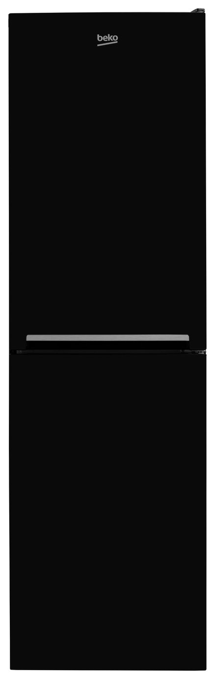 Beko - CSG1582B - Fridge Freezer - Black from Beko