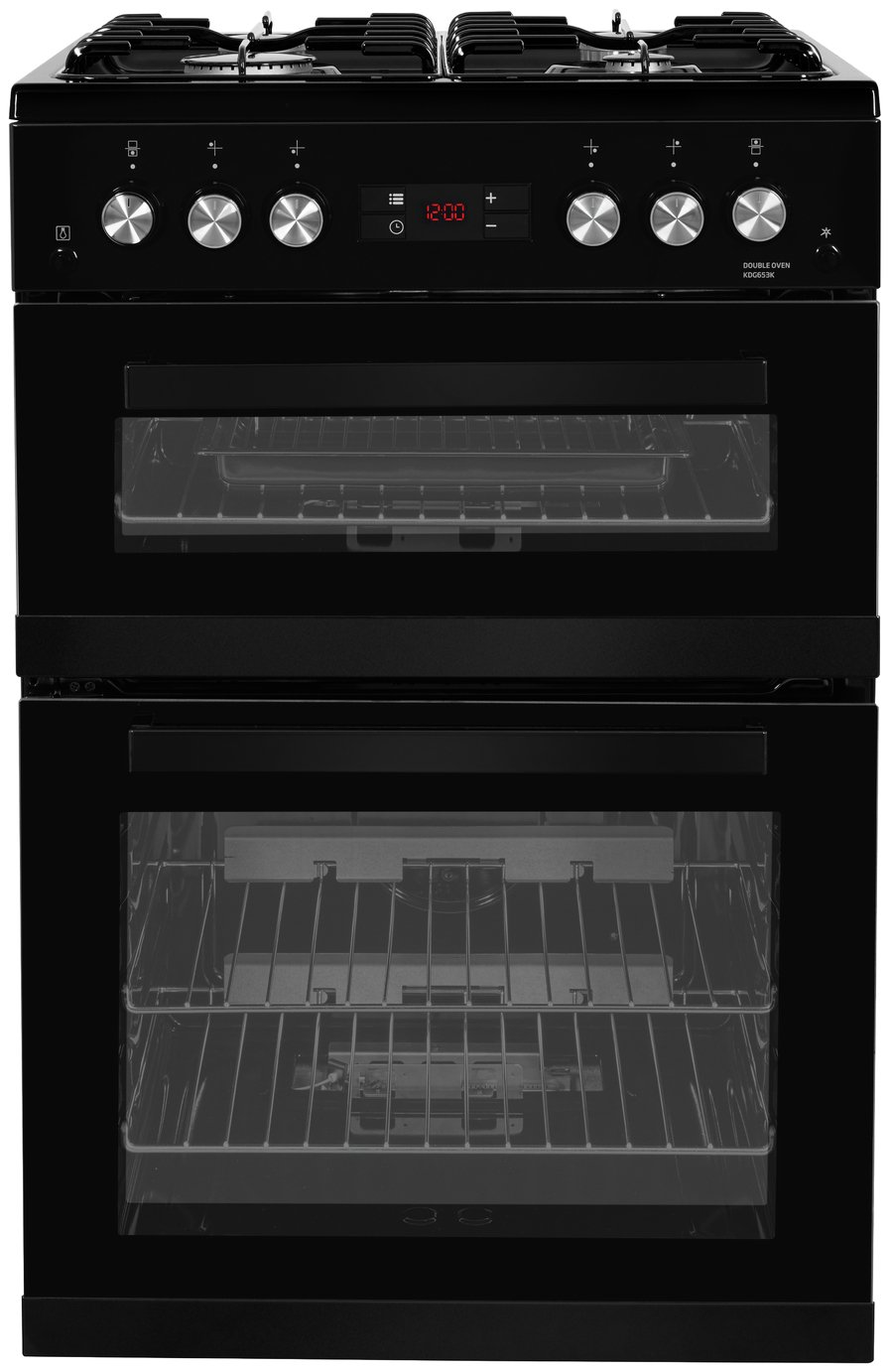 Beko KDG653K Gas Cooker Black from Beko