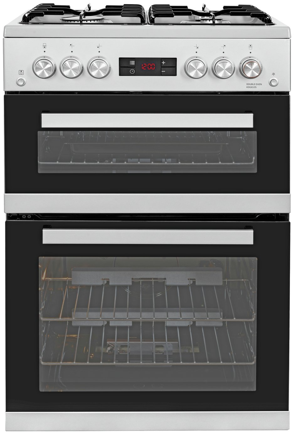 Beko KDG653S Gas Cooker Silver from Beko