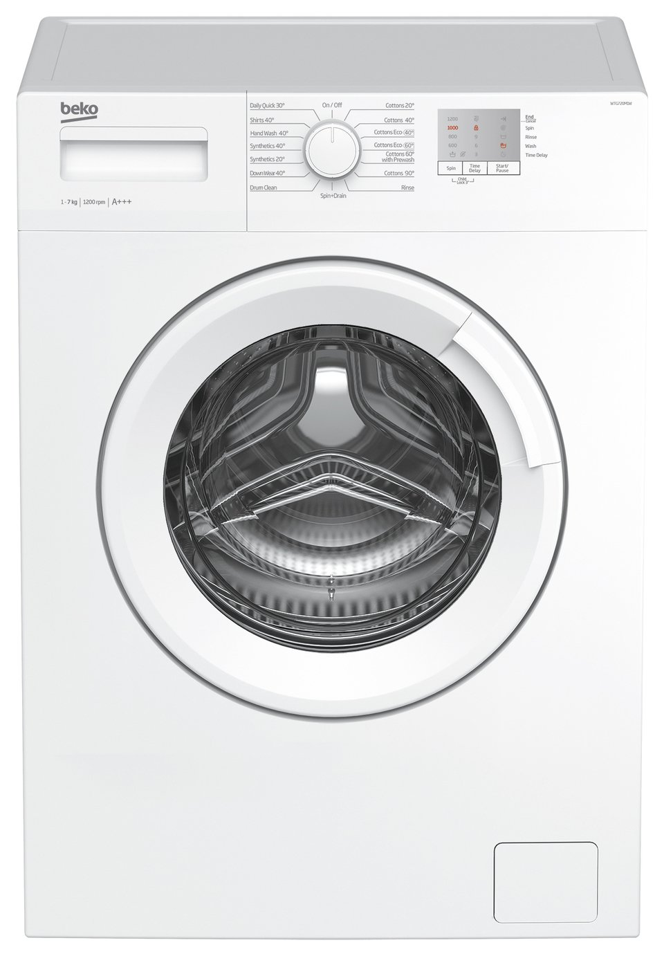 Beko WTG720M1W 7KG 1200 Spin Washing Machine - White from Beko