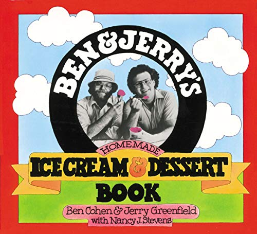 Ben and Jerry's Homemade Ice Cream and Dessert Book from Workman Publishing