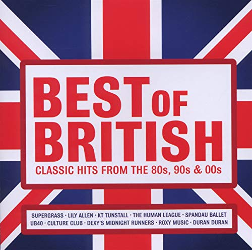 Best of British: Classic Hits from the 80s, 90s and 00s from EMI MKTG