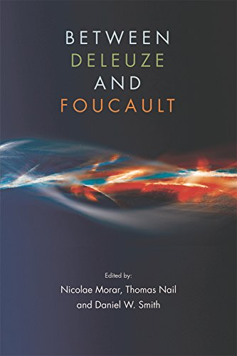 Between Deleuze and Foucault from Edinburgh University Press