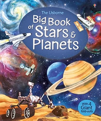 Big Book of Stars and Planets (Big Books) from Usborne Publishing Ltd